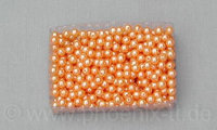 Perle 8 mm, 100g-Box, orange